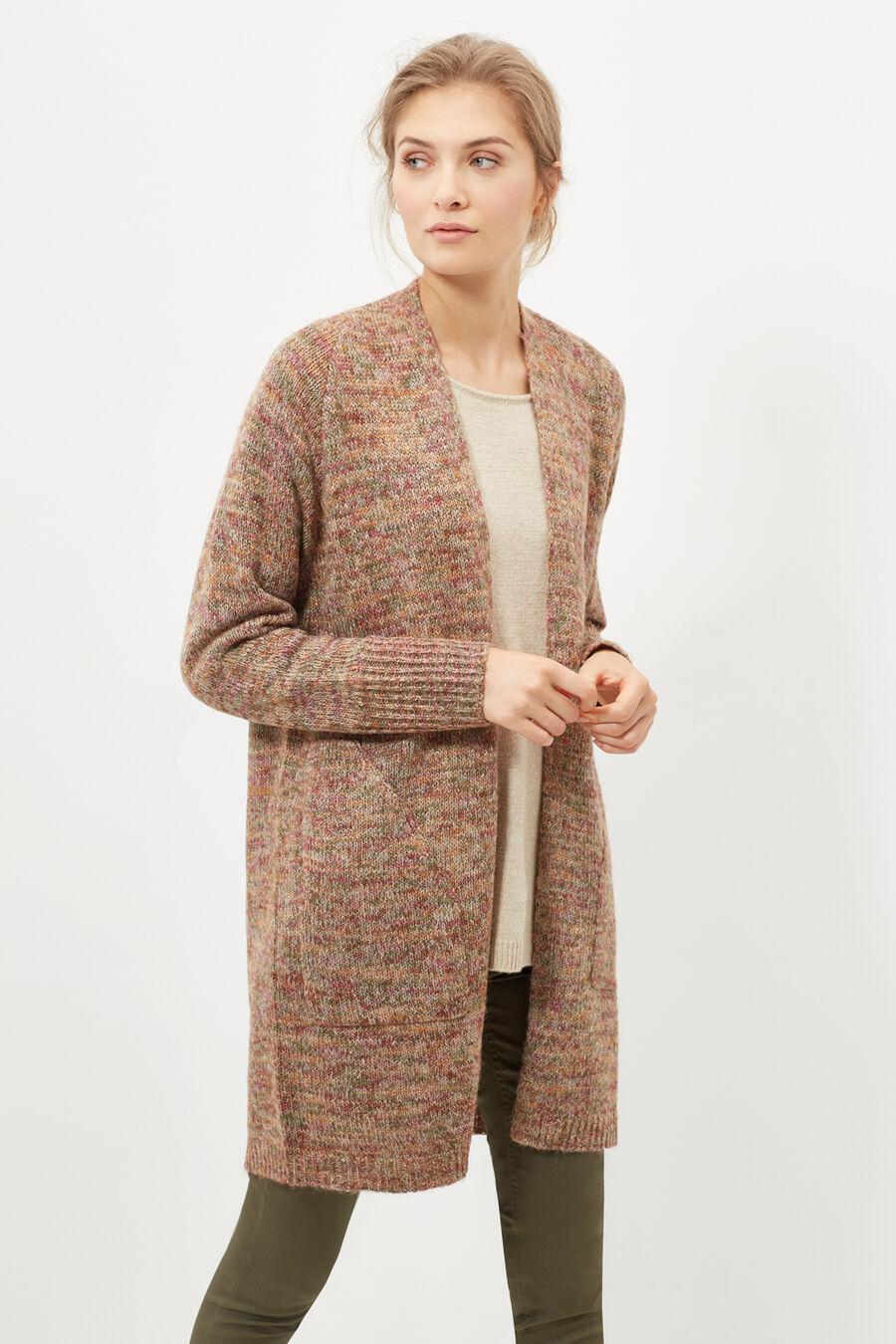 Multi-coloured cardigan