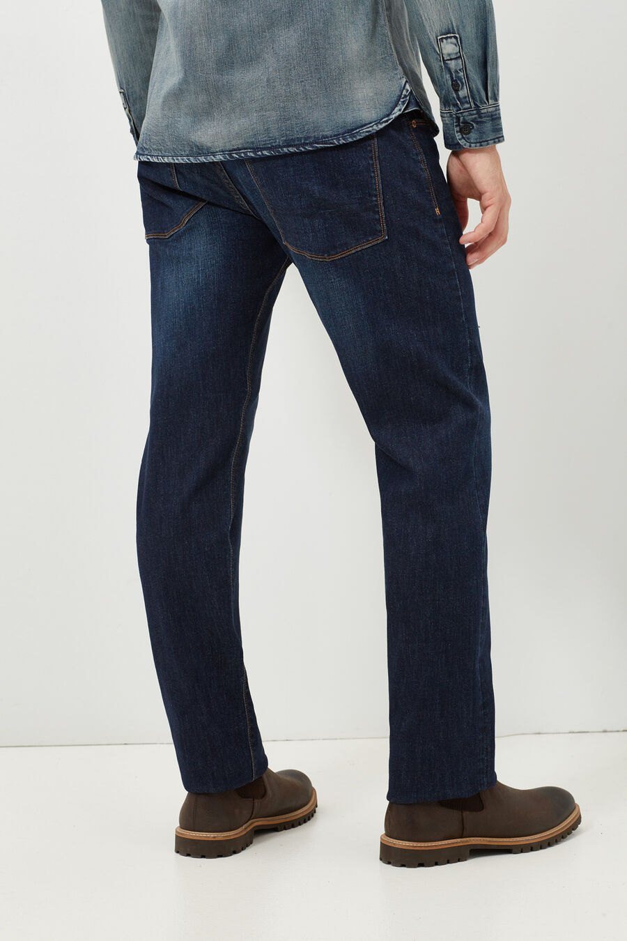 Pantalón denim regular fit