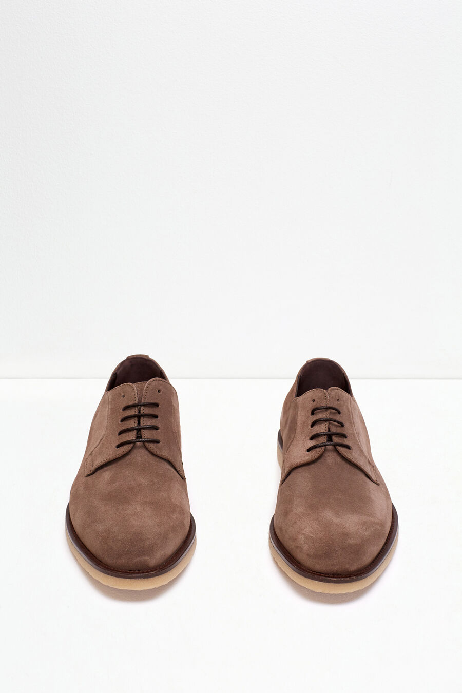 Blucher split leather shoe