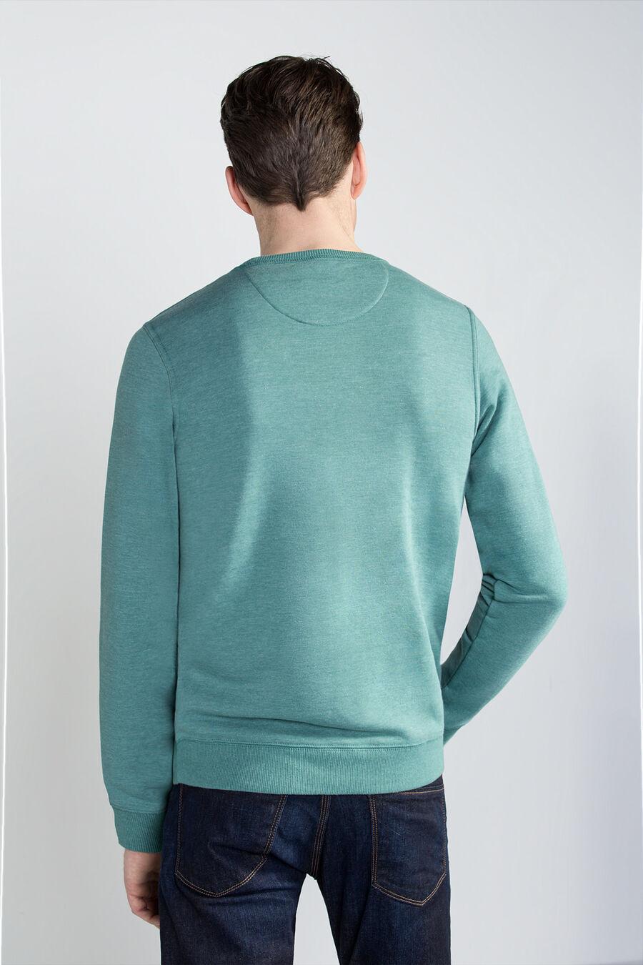 Sweatshirt with styling