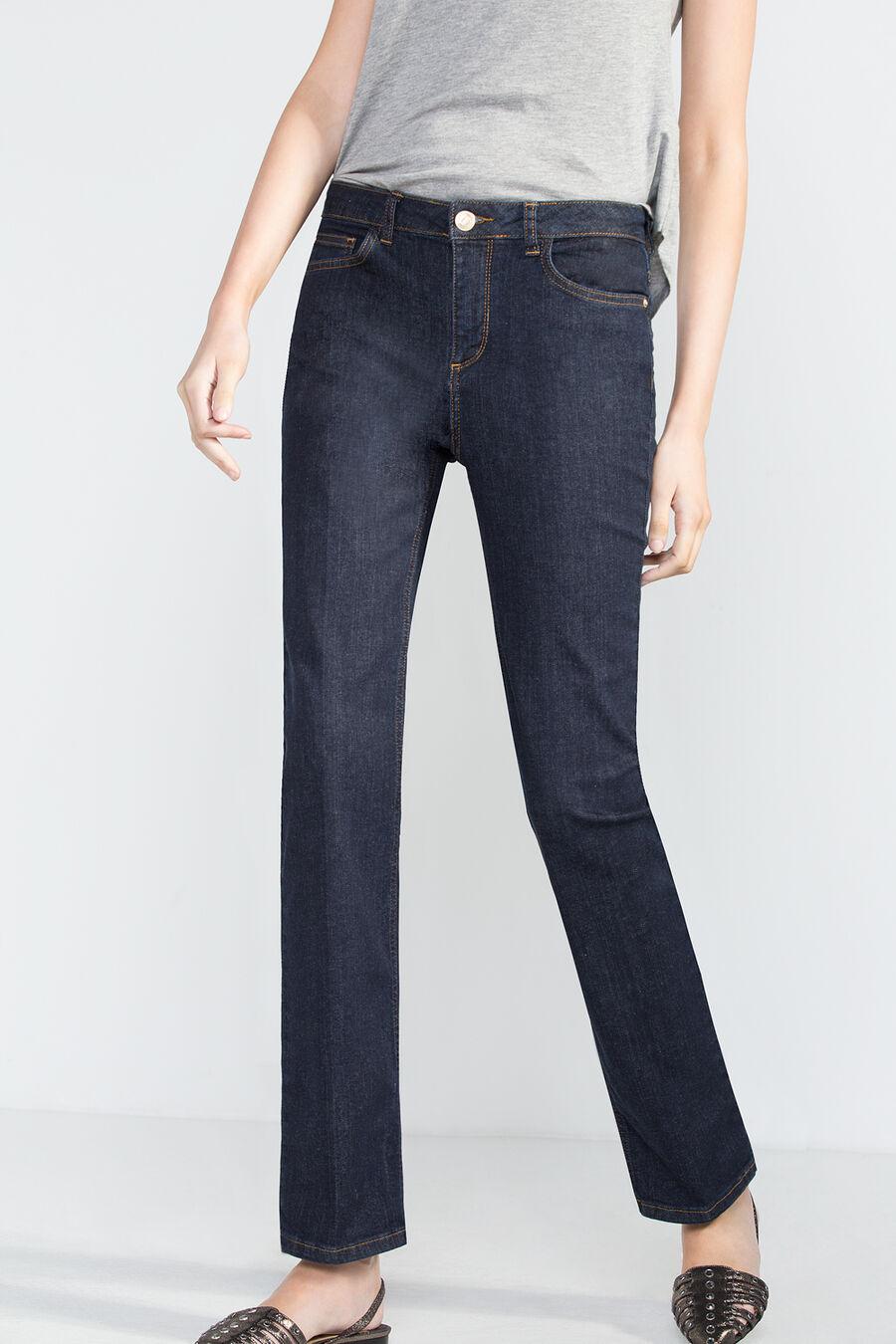 Straight fit premium denim jeans