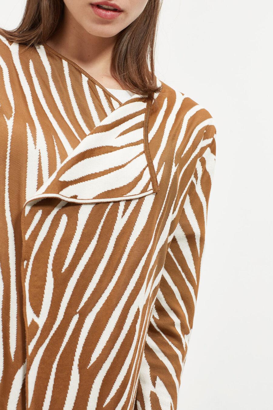 Jacquard print jacket