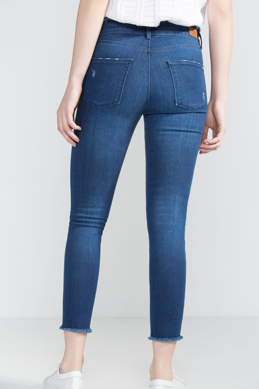 Pantalón denim super skinny