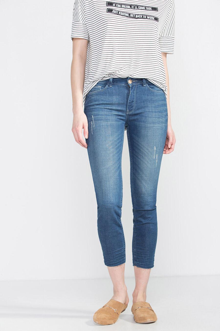 Skinny premium denim trousers