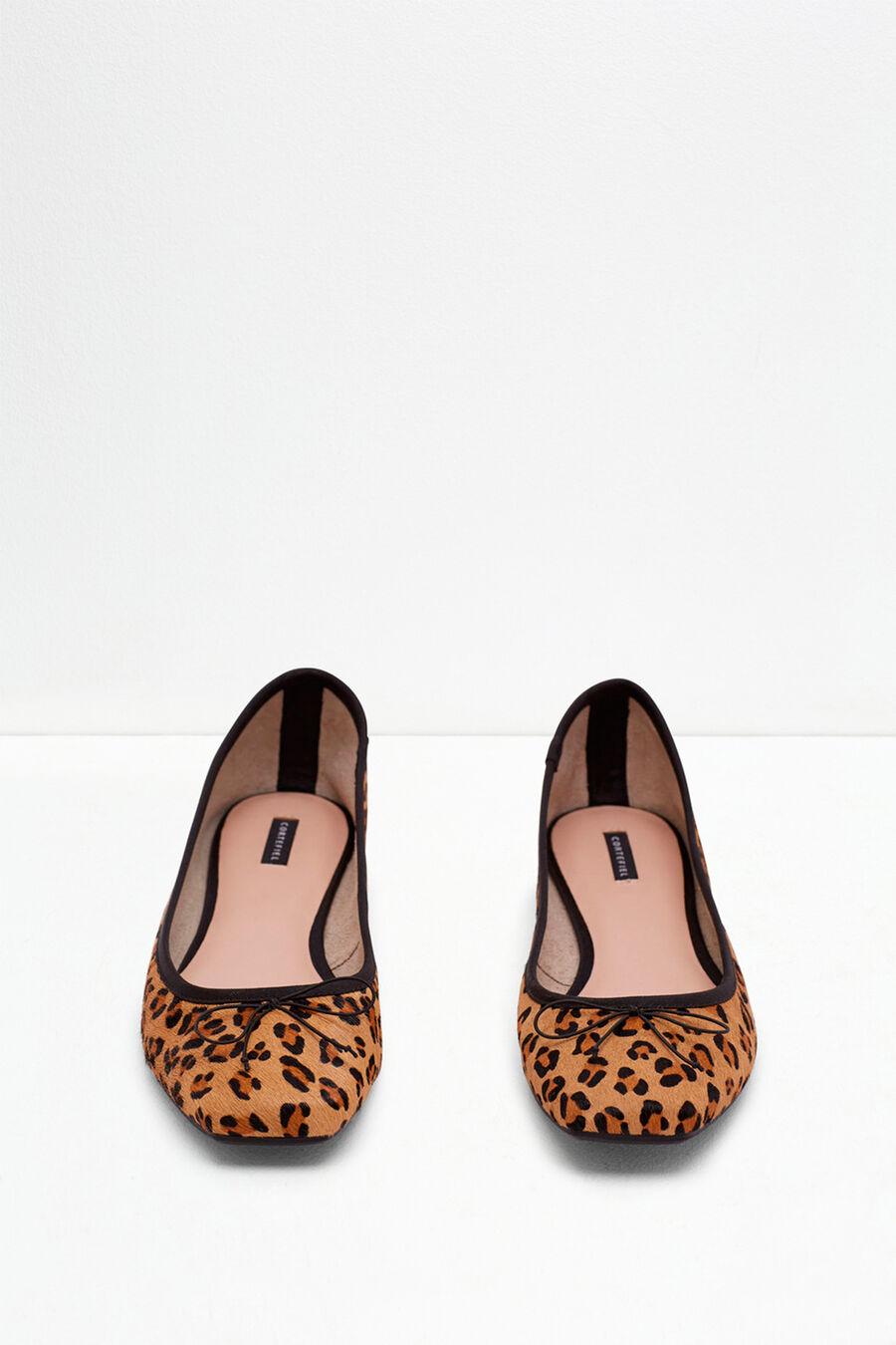 Bow ballerina flat shoes
