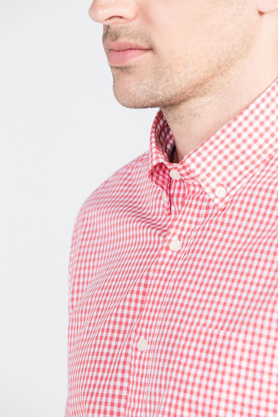Vichy check shirt
