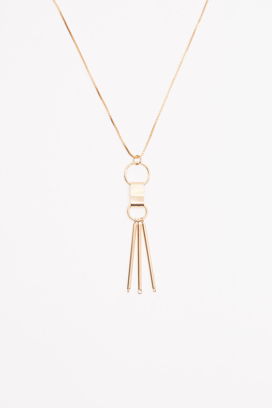 Fringes necklace