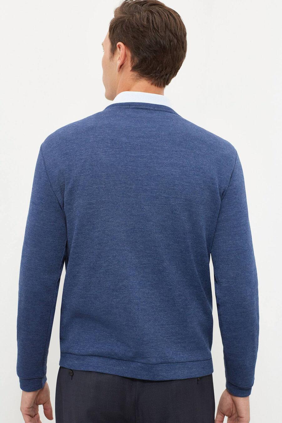Patterned sweatshirt