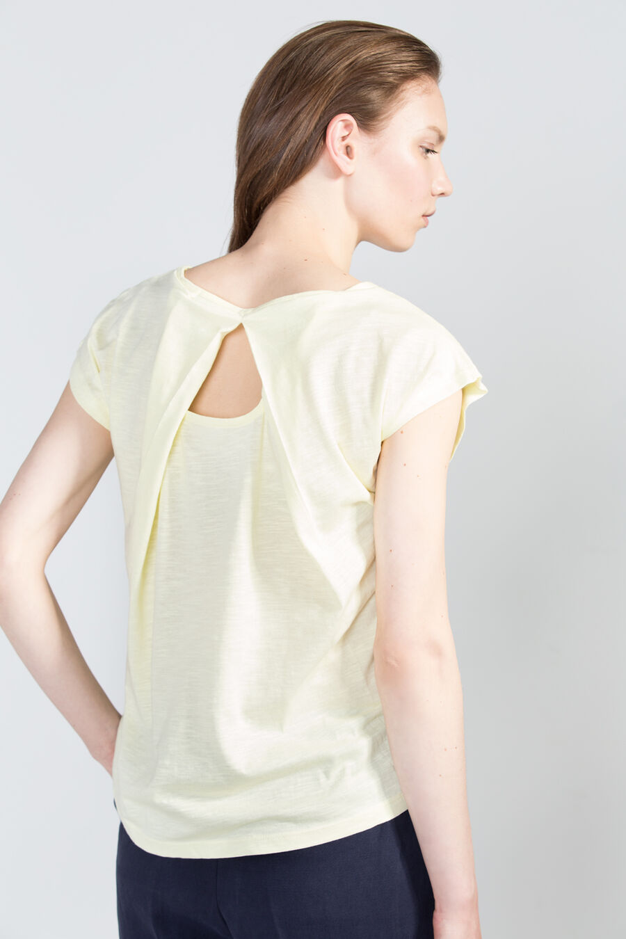 Back split t-shirt