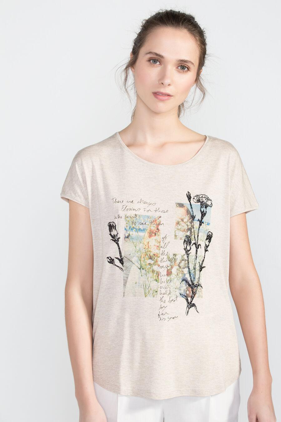 Camiseta texto caligrafia
