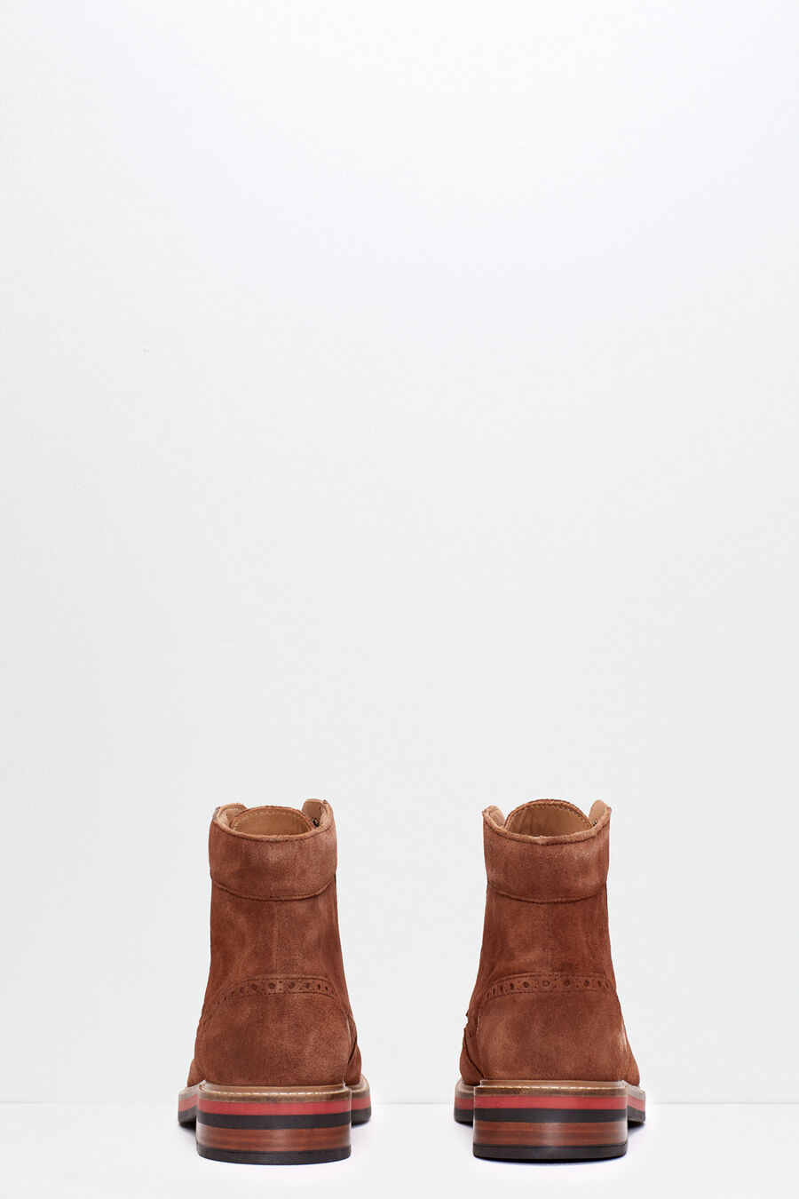 Split leather boots