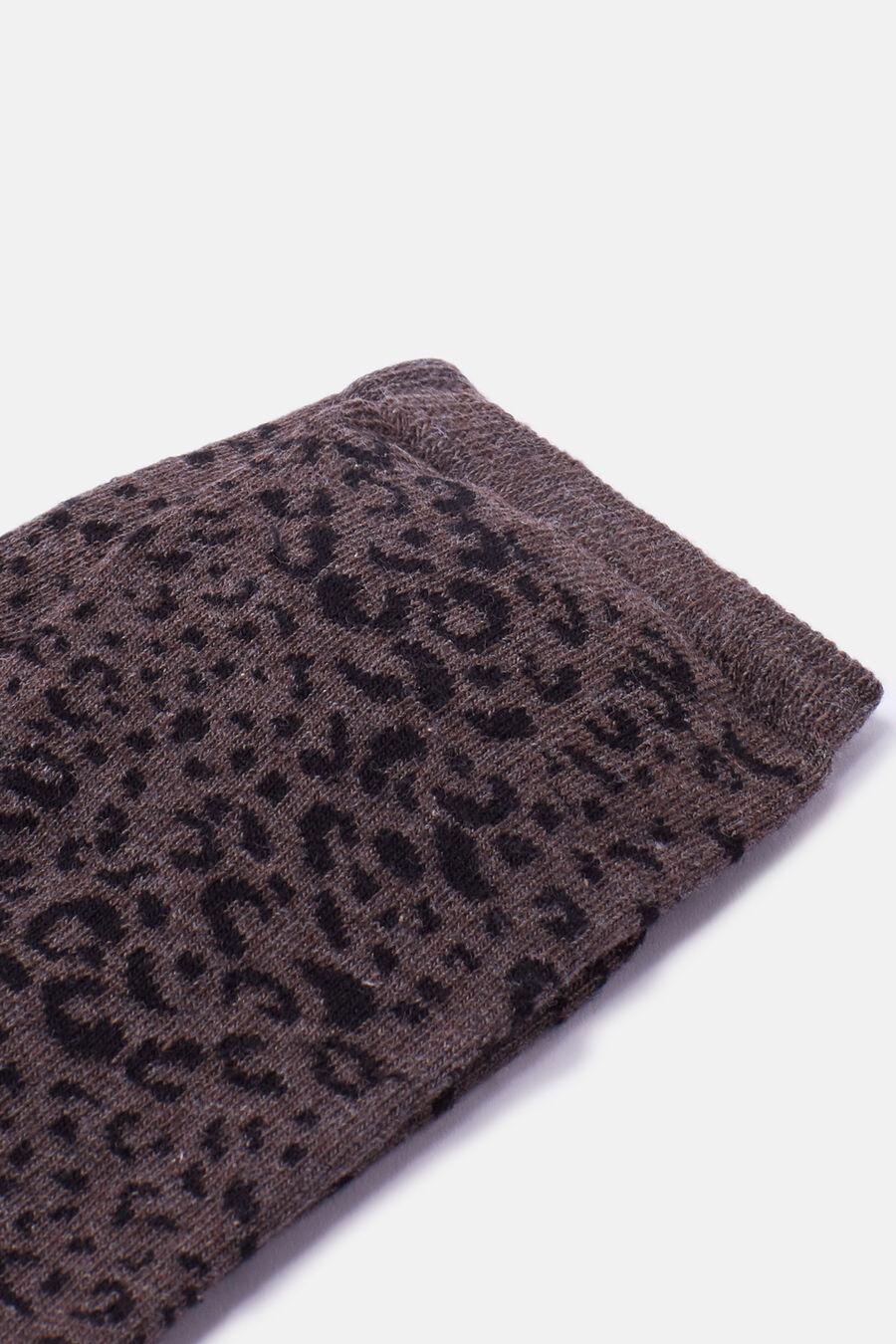Calcetín leopardo