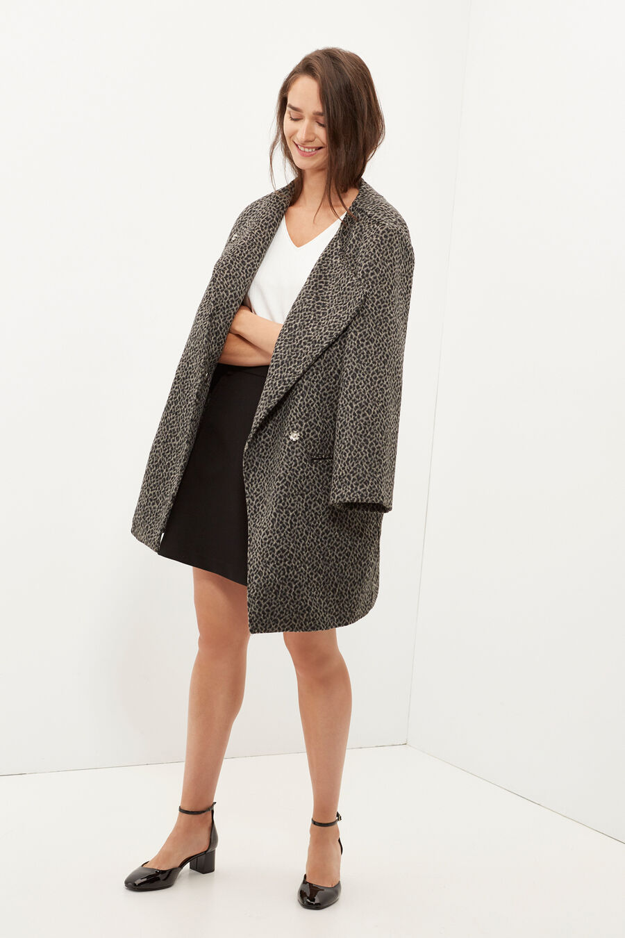 Patterned coat