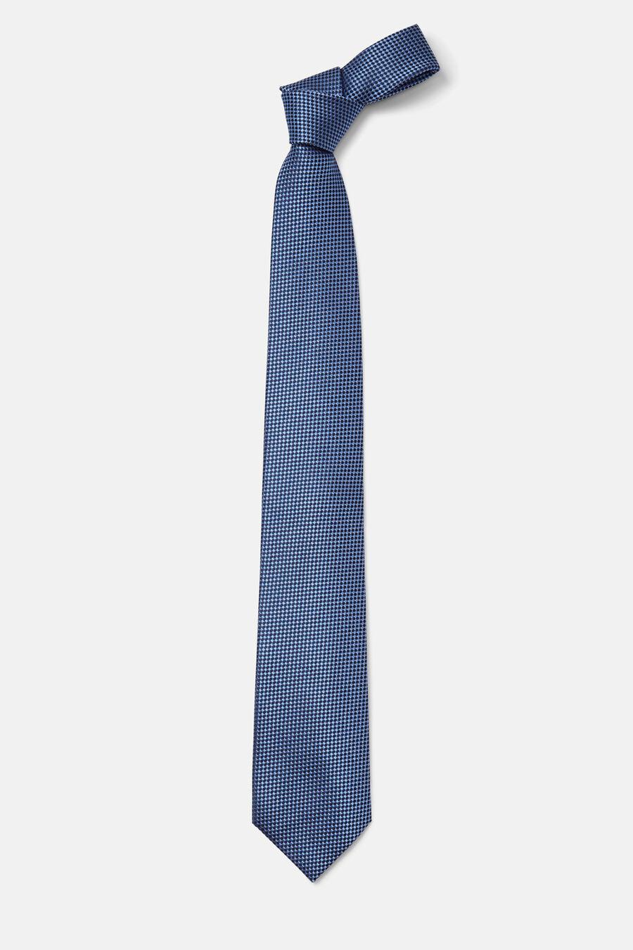 Corbata estructura bicolor