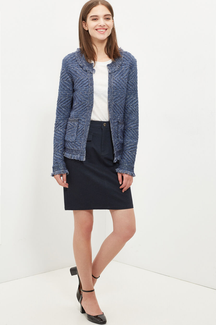 Structured jacket