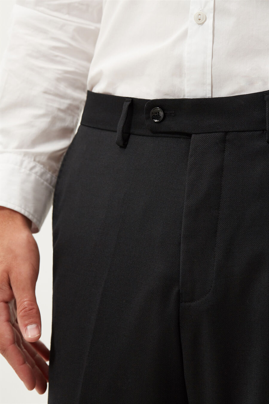 Slim fit separate trousers.