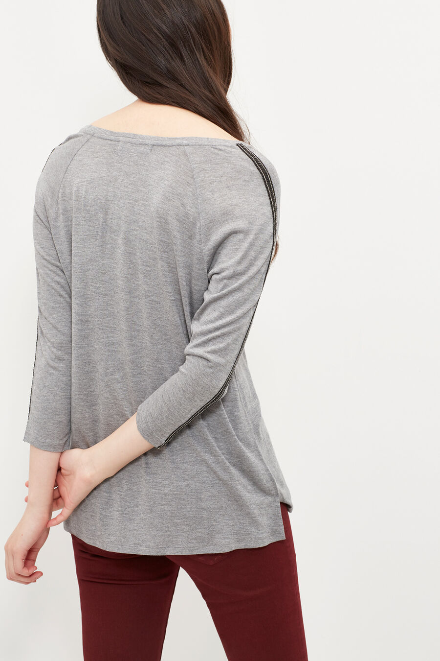 T-shirt with trim detailing