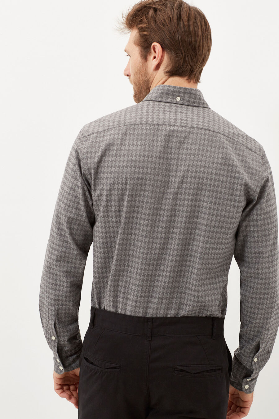 Camisa tailored fit