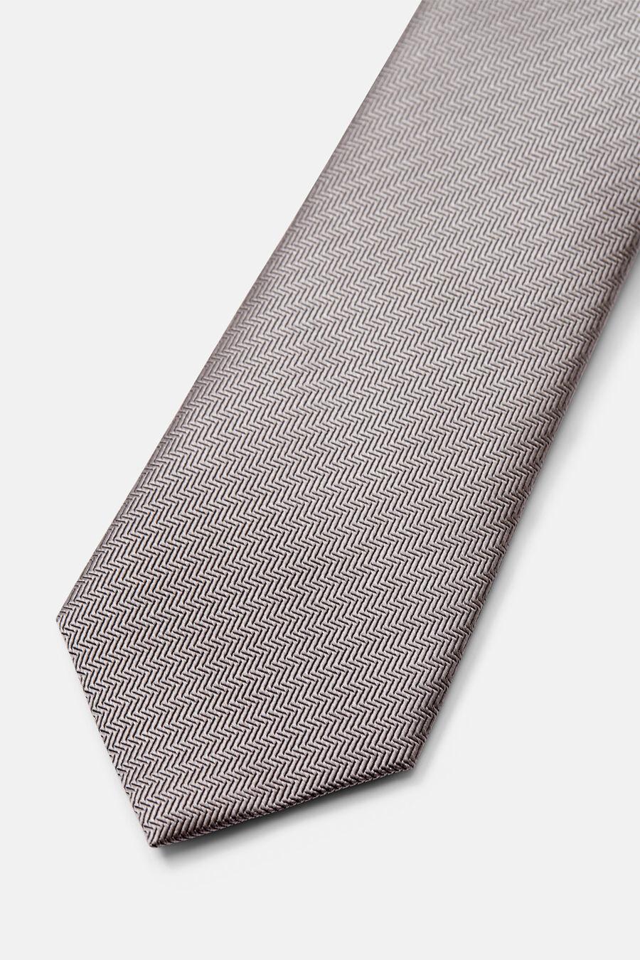 Herringbone structure tie