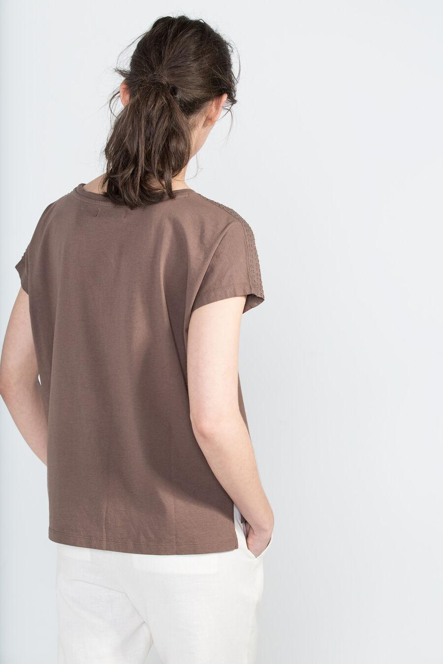 Backstitched t-shirt