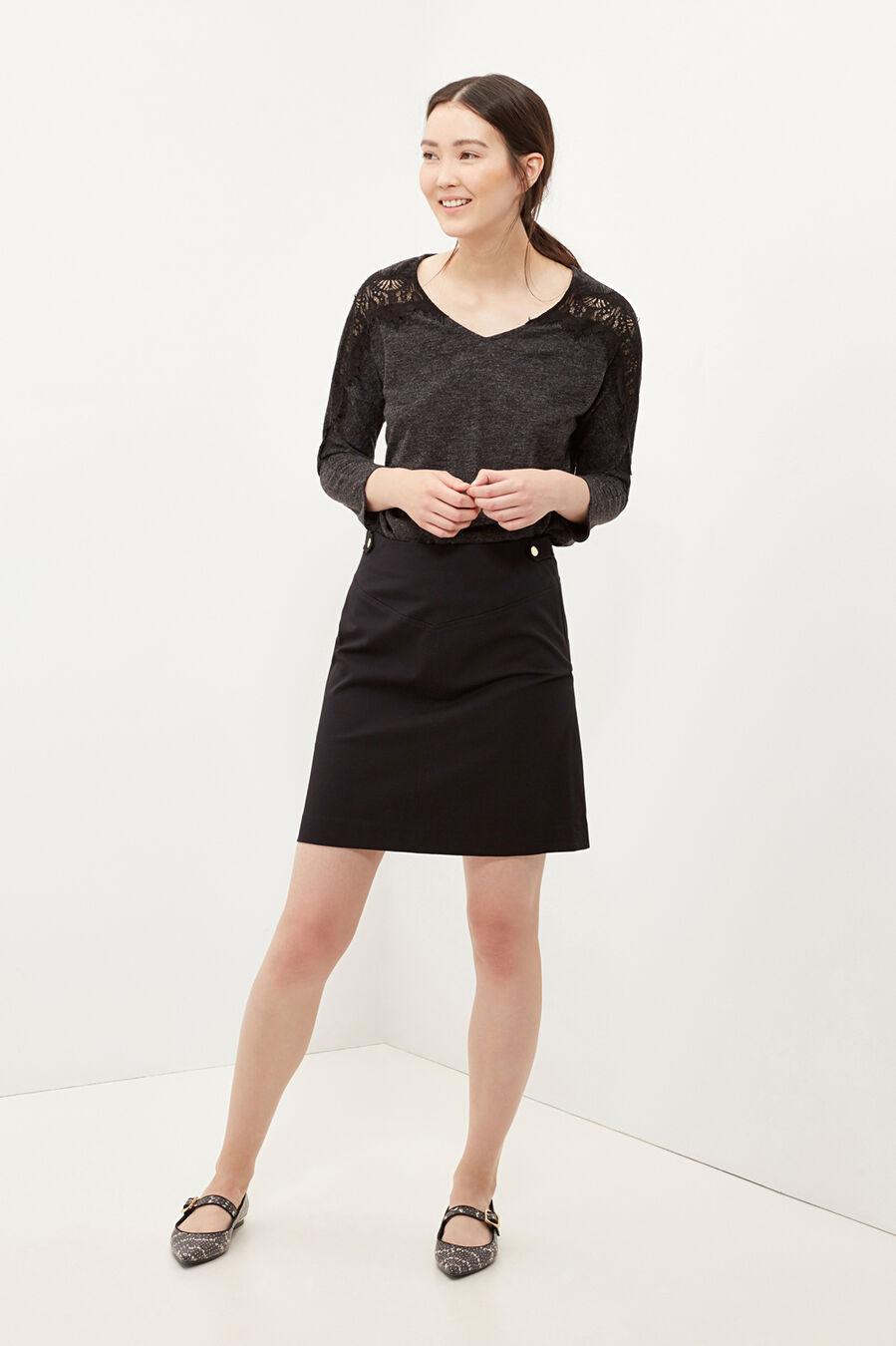 Falda línea A