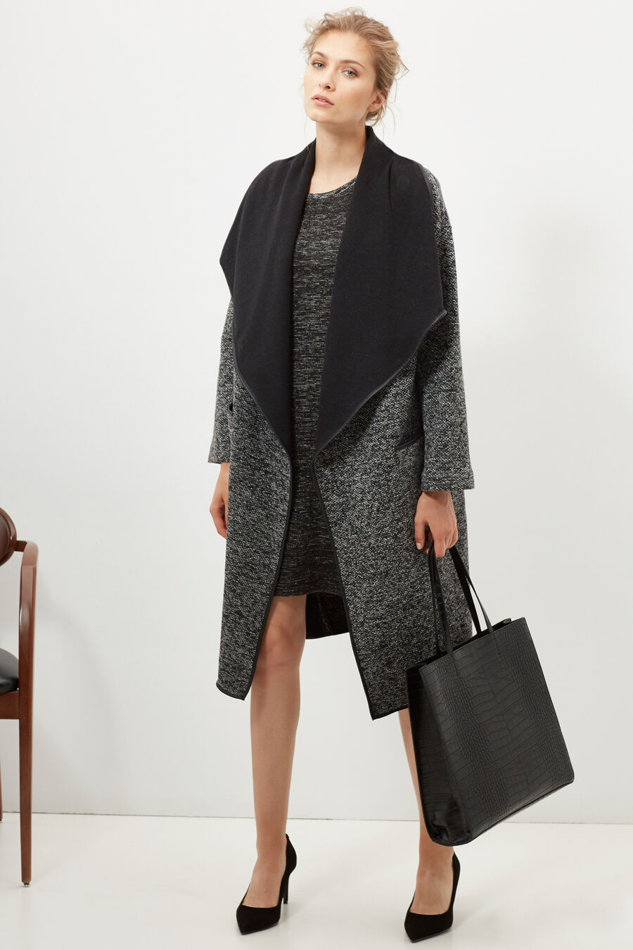 Mottled coat