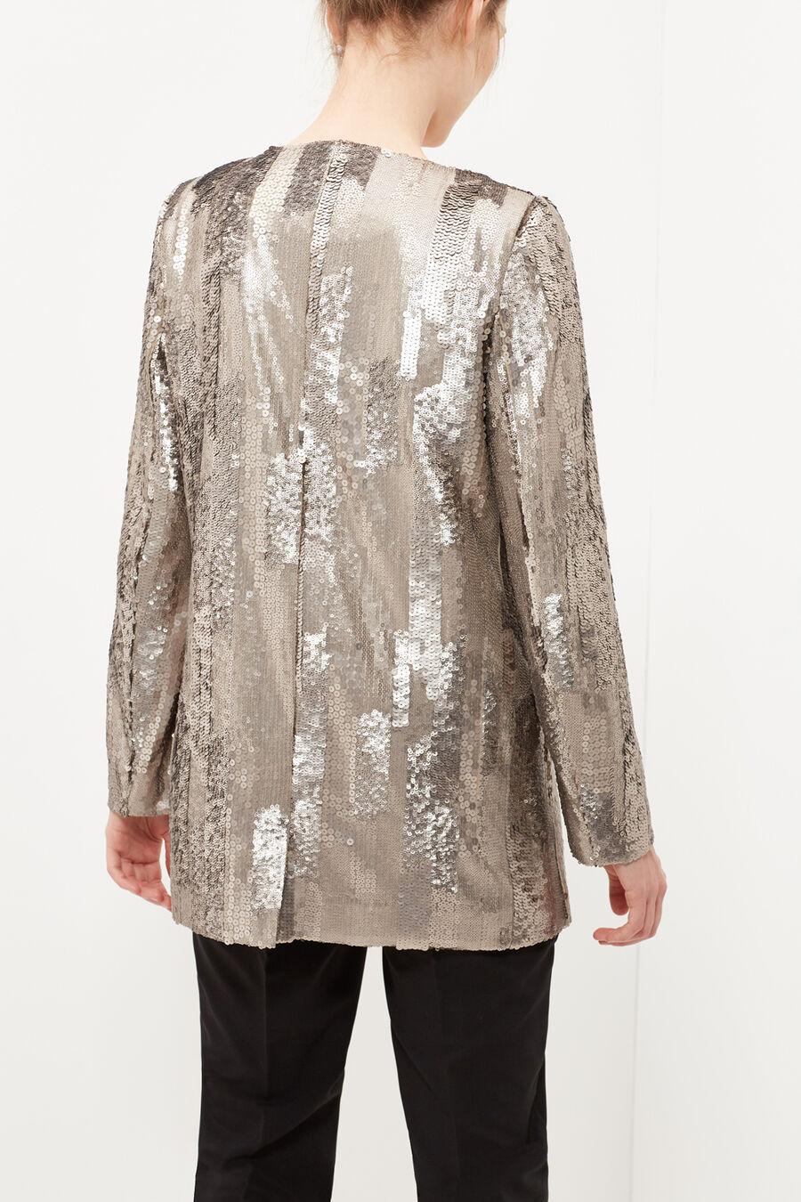Sequined blazer