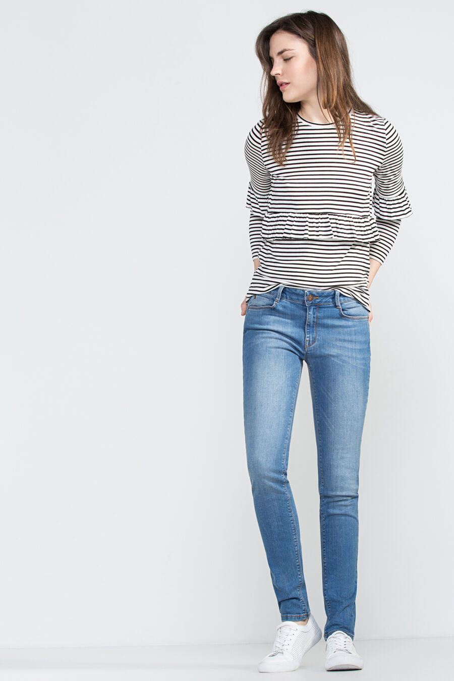 Pantalón denim super skinny