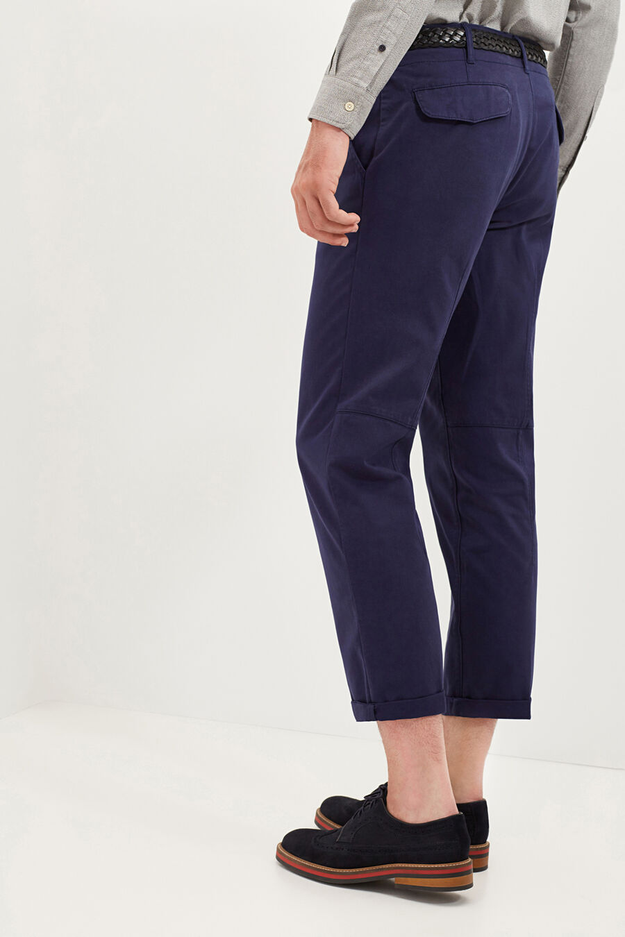 Tailored fit chino trousers
