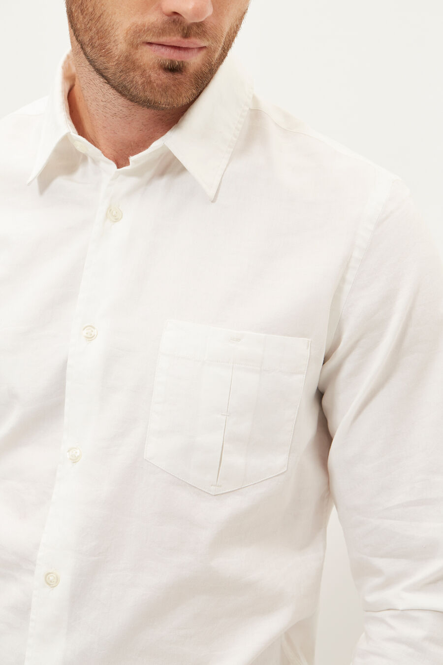 Camouflage jacquard shirt