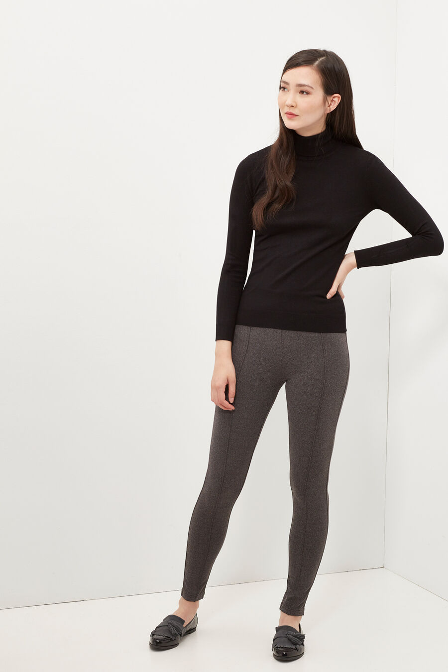 Herringbone leggings