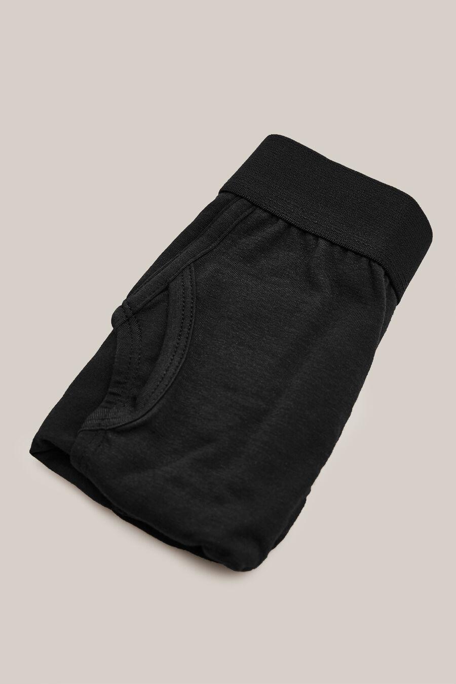 Plain knit briefs