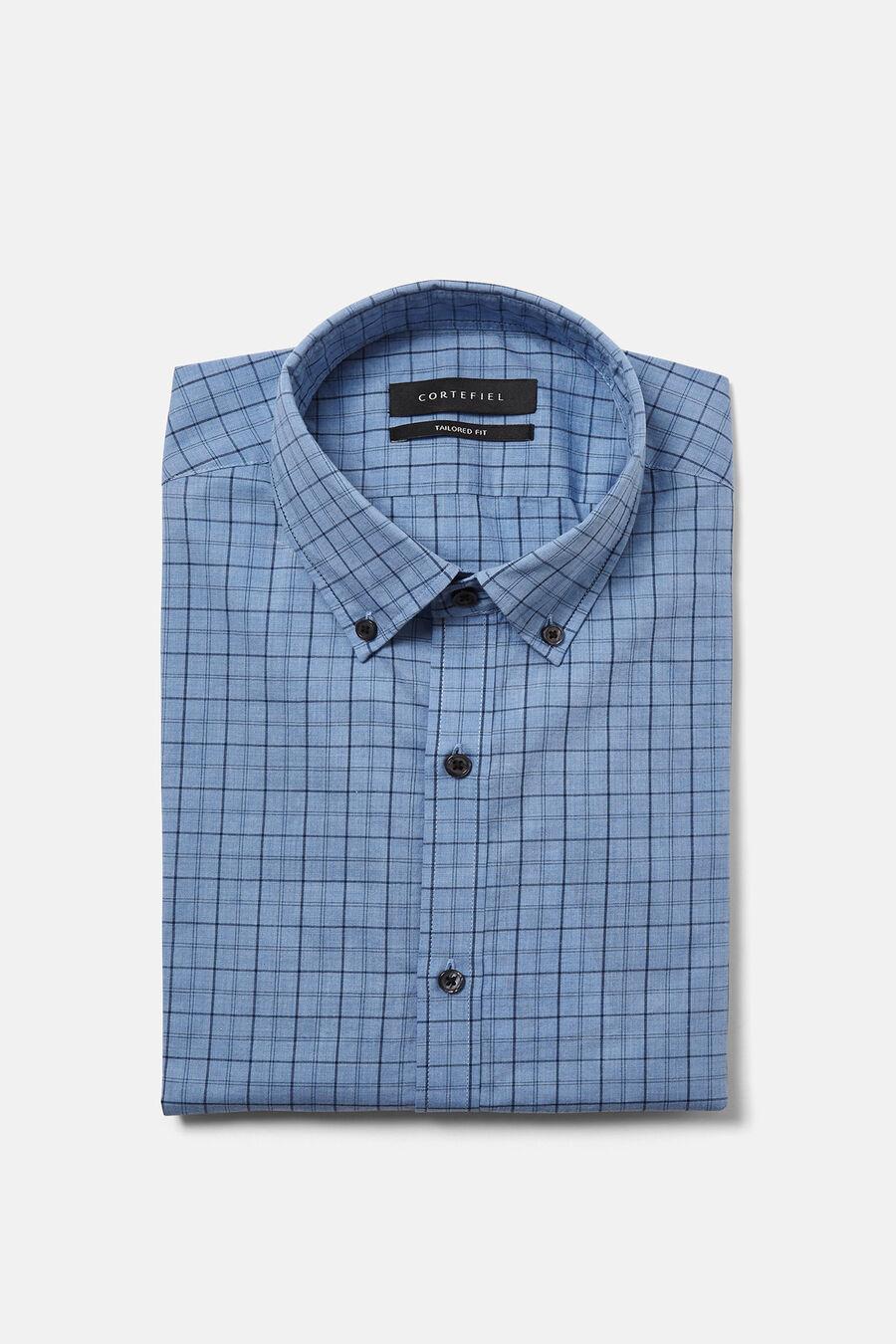 Window check shirt