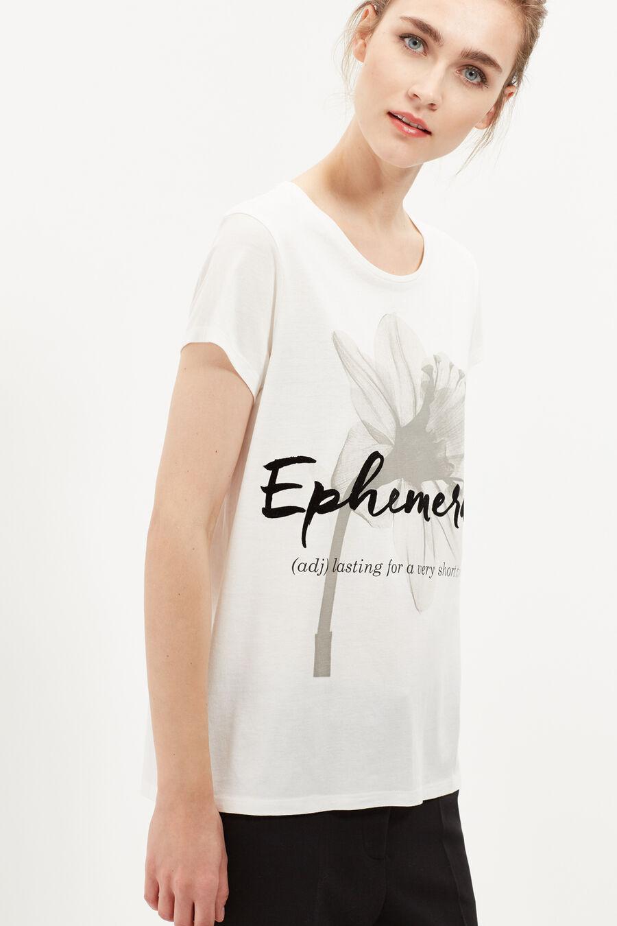 Camiseta ilustración floral
