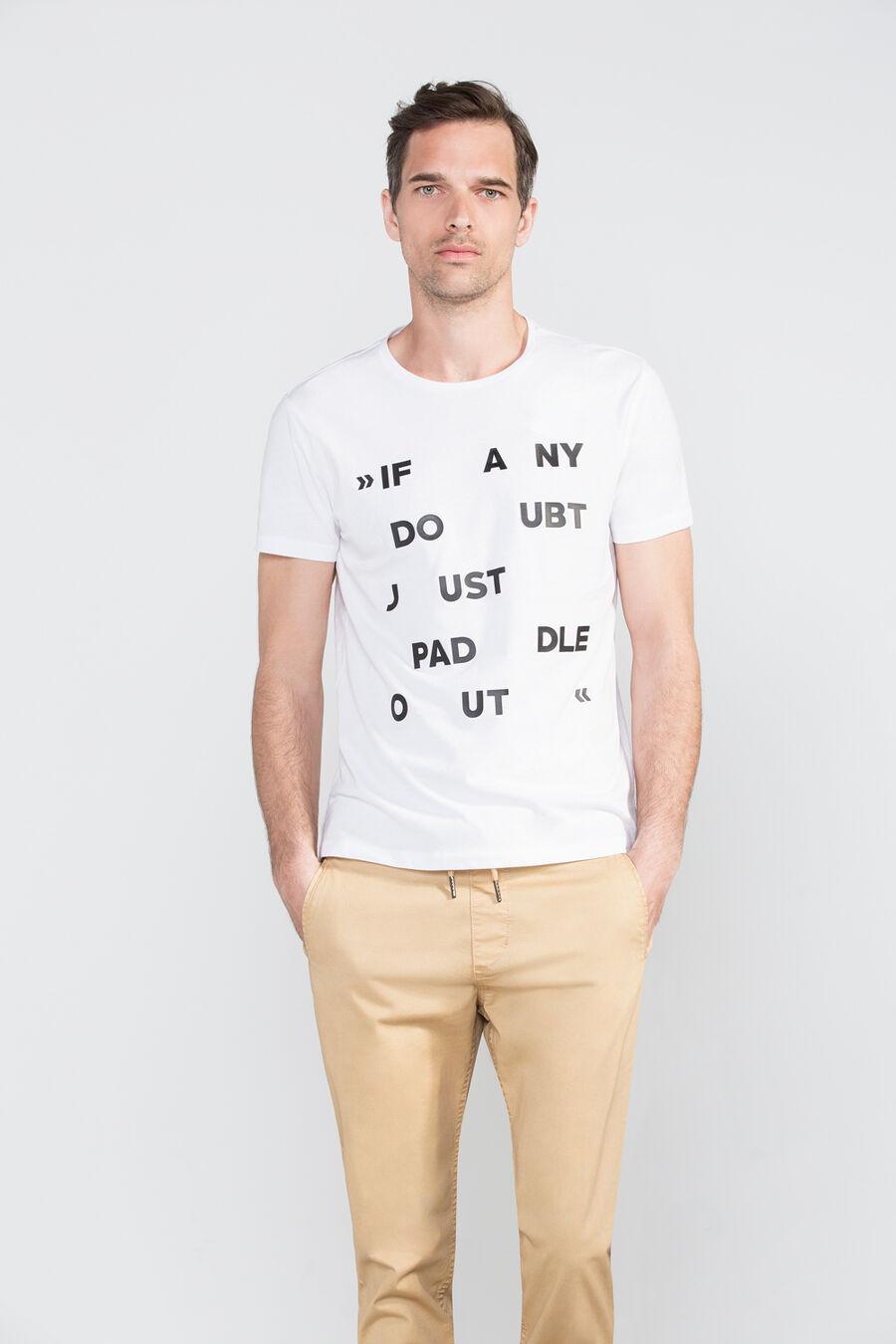 Camiseta texto