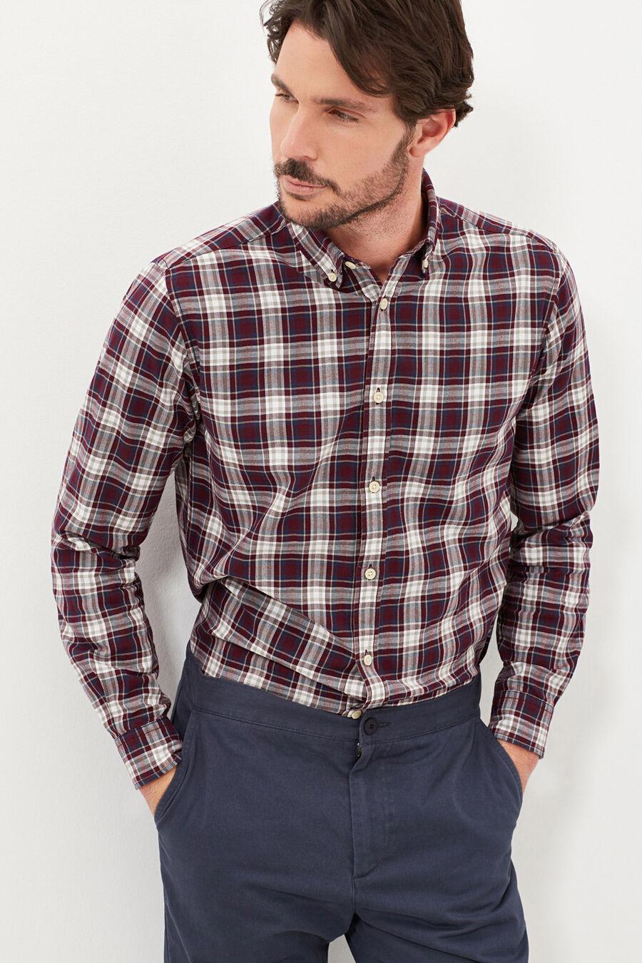 Twill check shirt