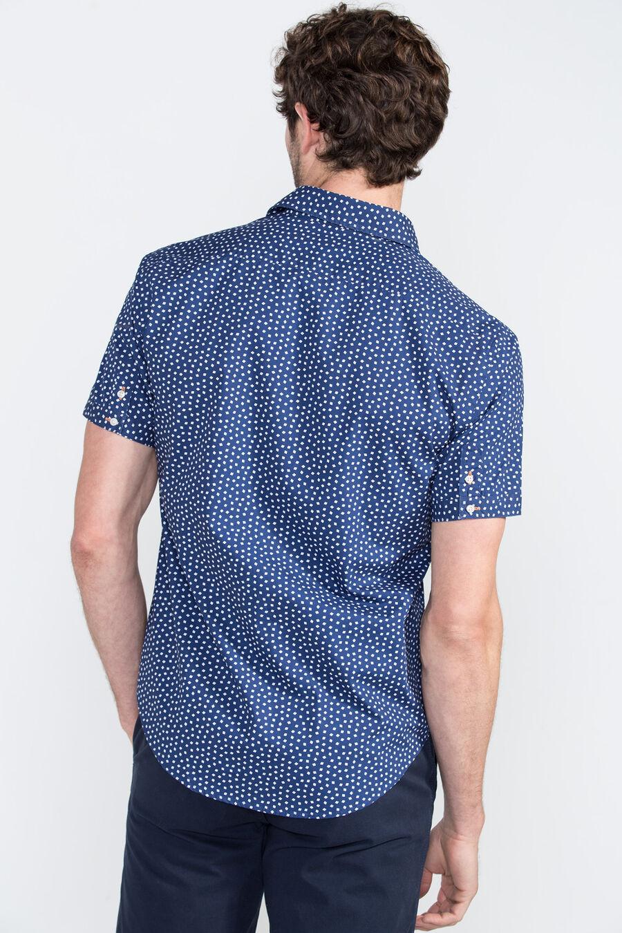 Small checks print shirt