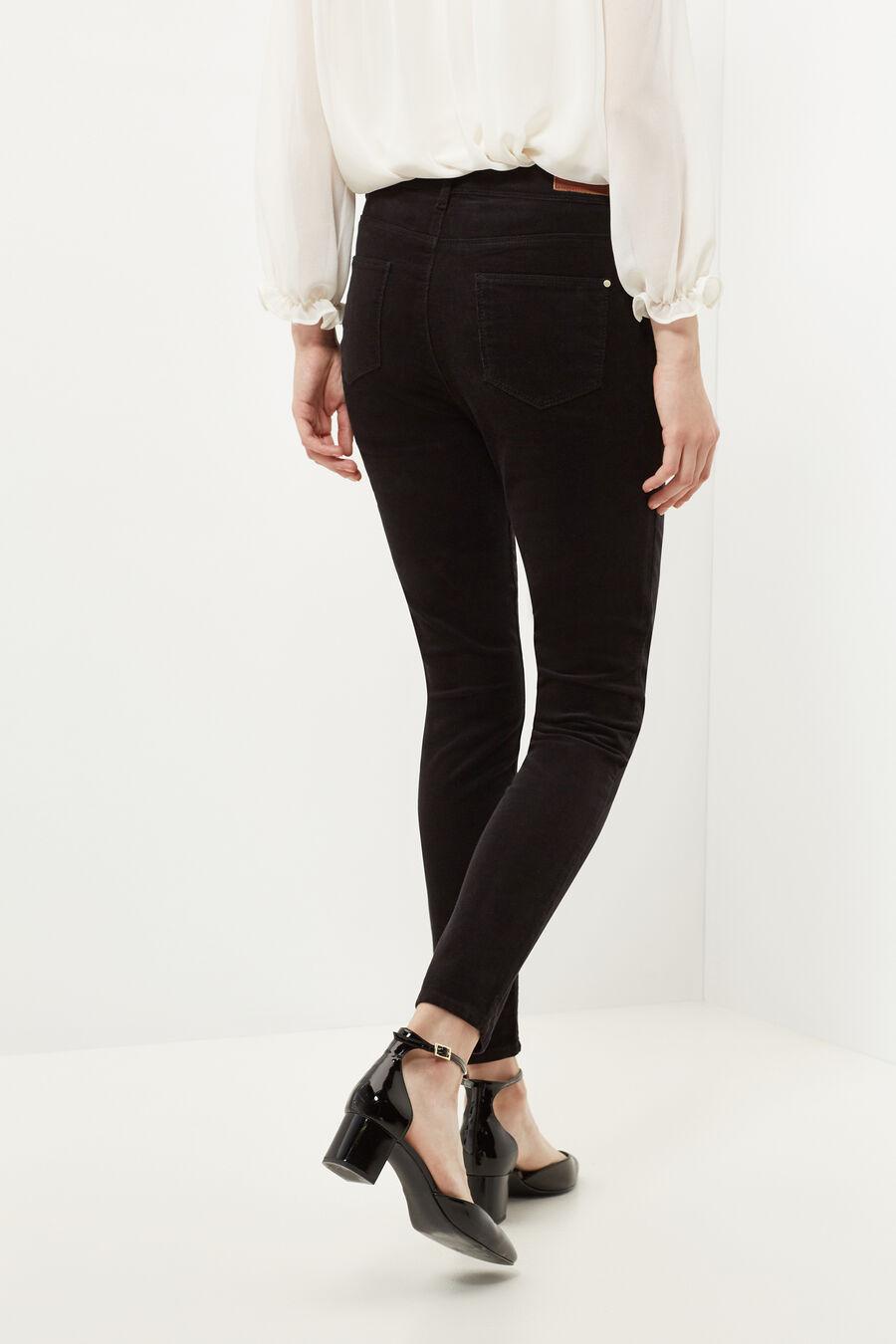 Skinny micro-corduroy trousers