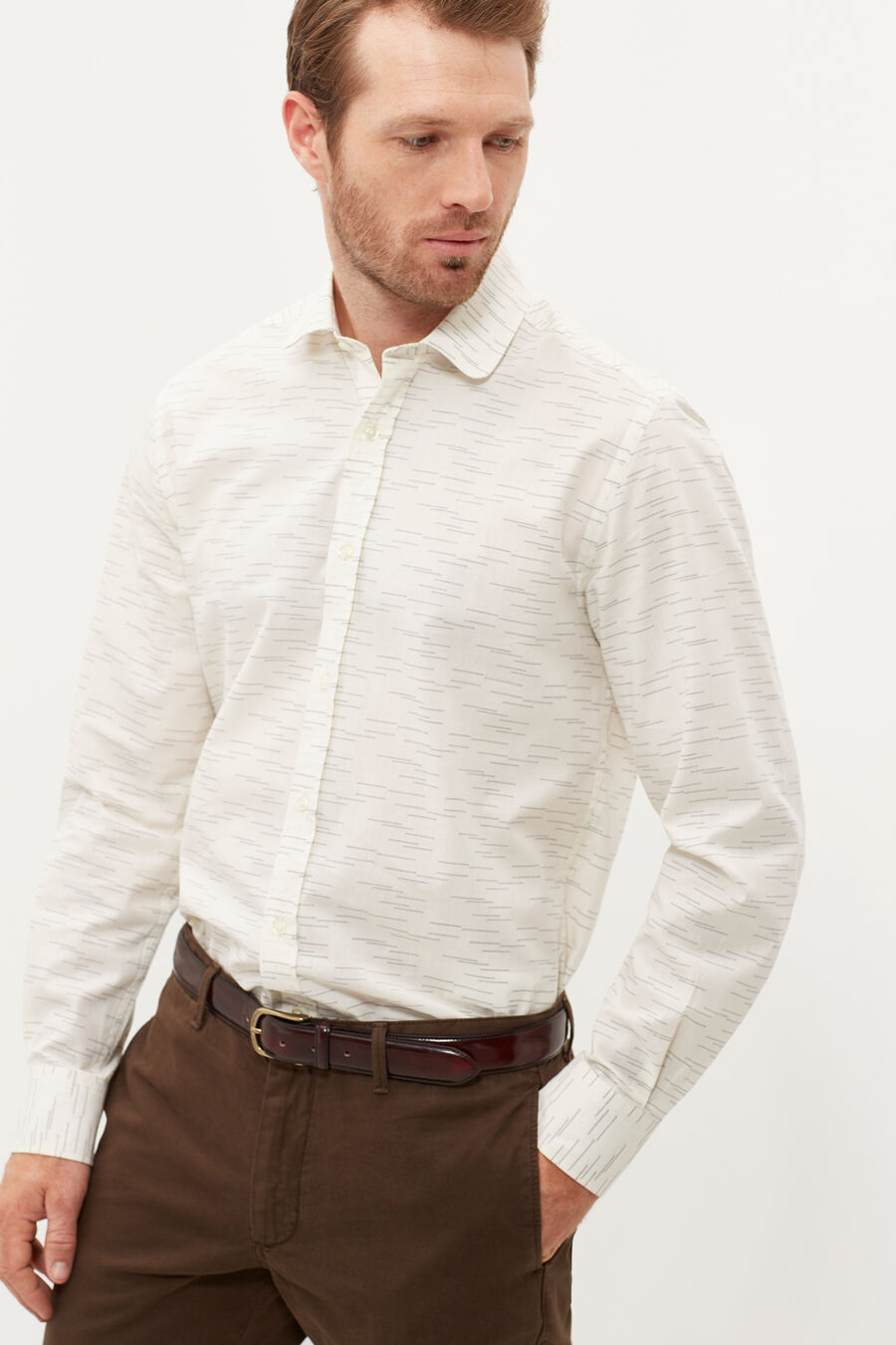 Fancy tailored fit shirt