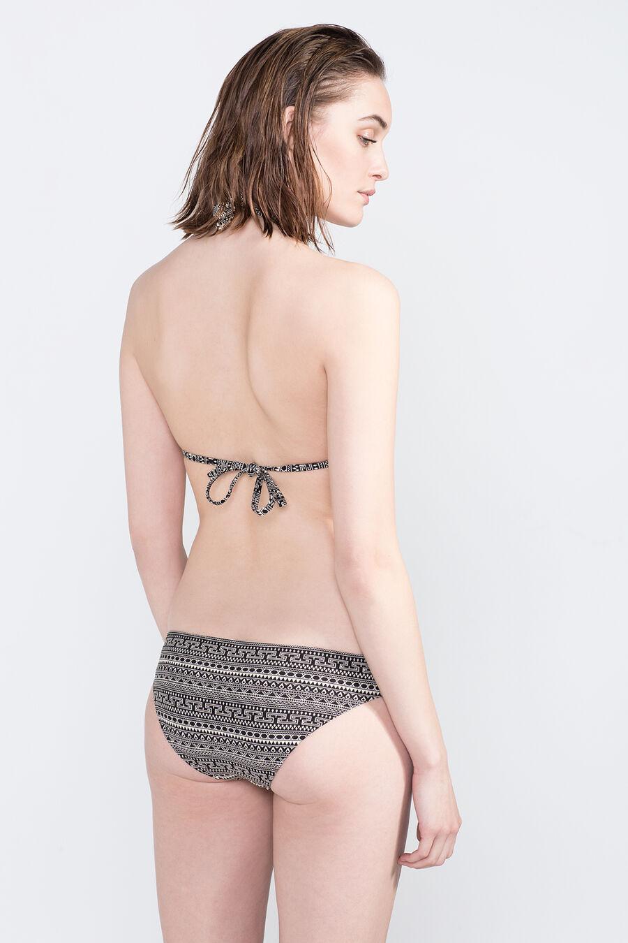 Jacquard bikini bottoms