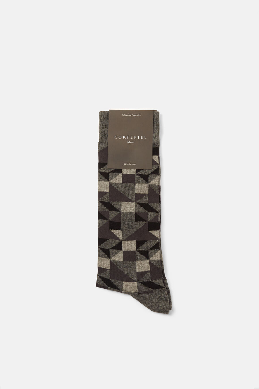 Irregular pattern socks