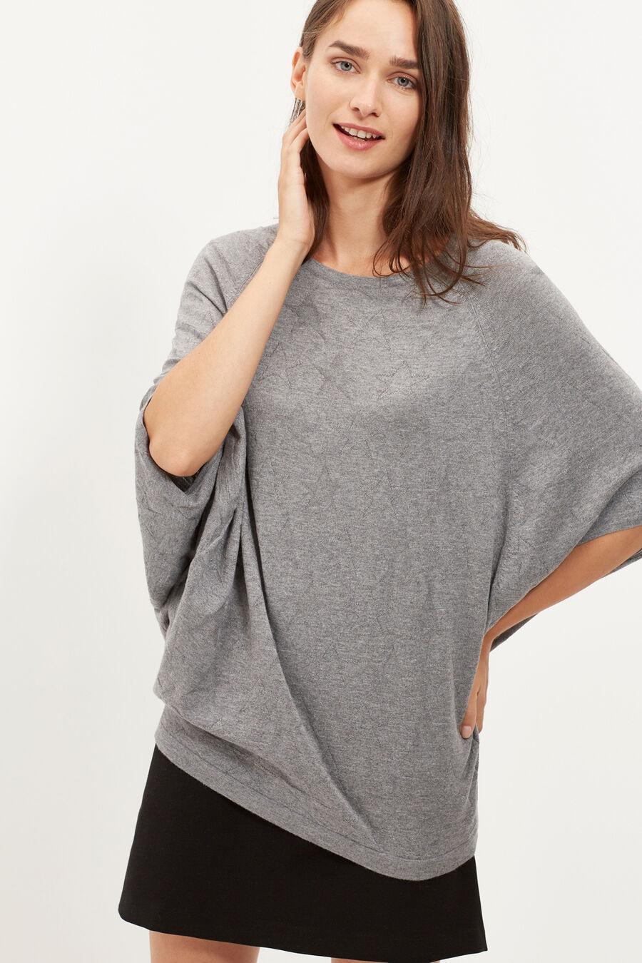 Stars print sweater