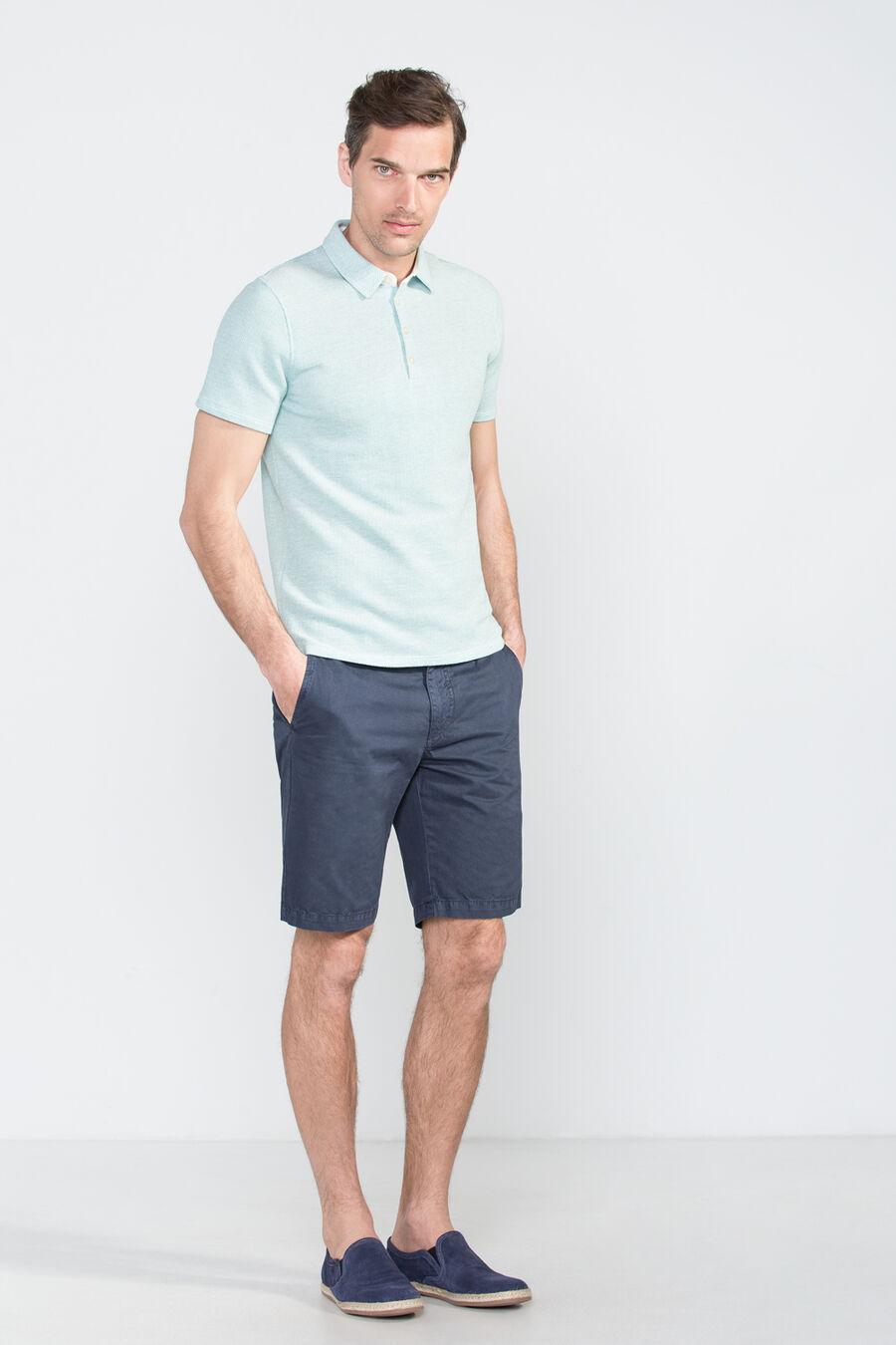 Dye-in bermuda shorts