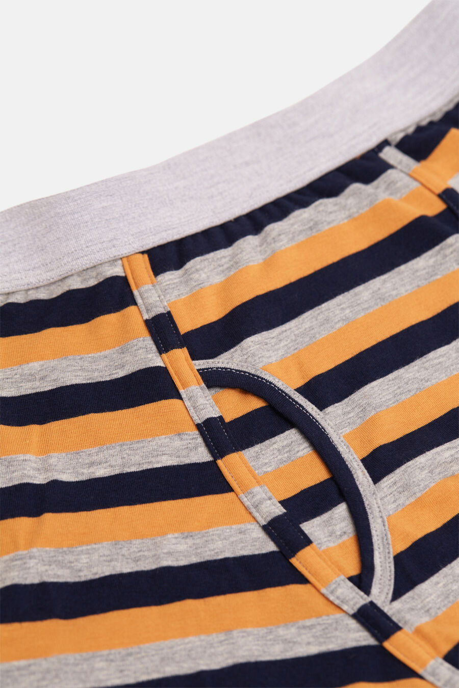 Striped knit boxers