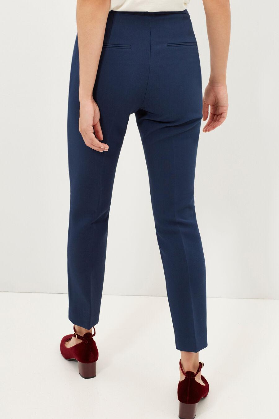 Slim fit dress trousers
