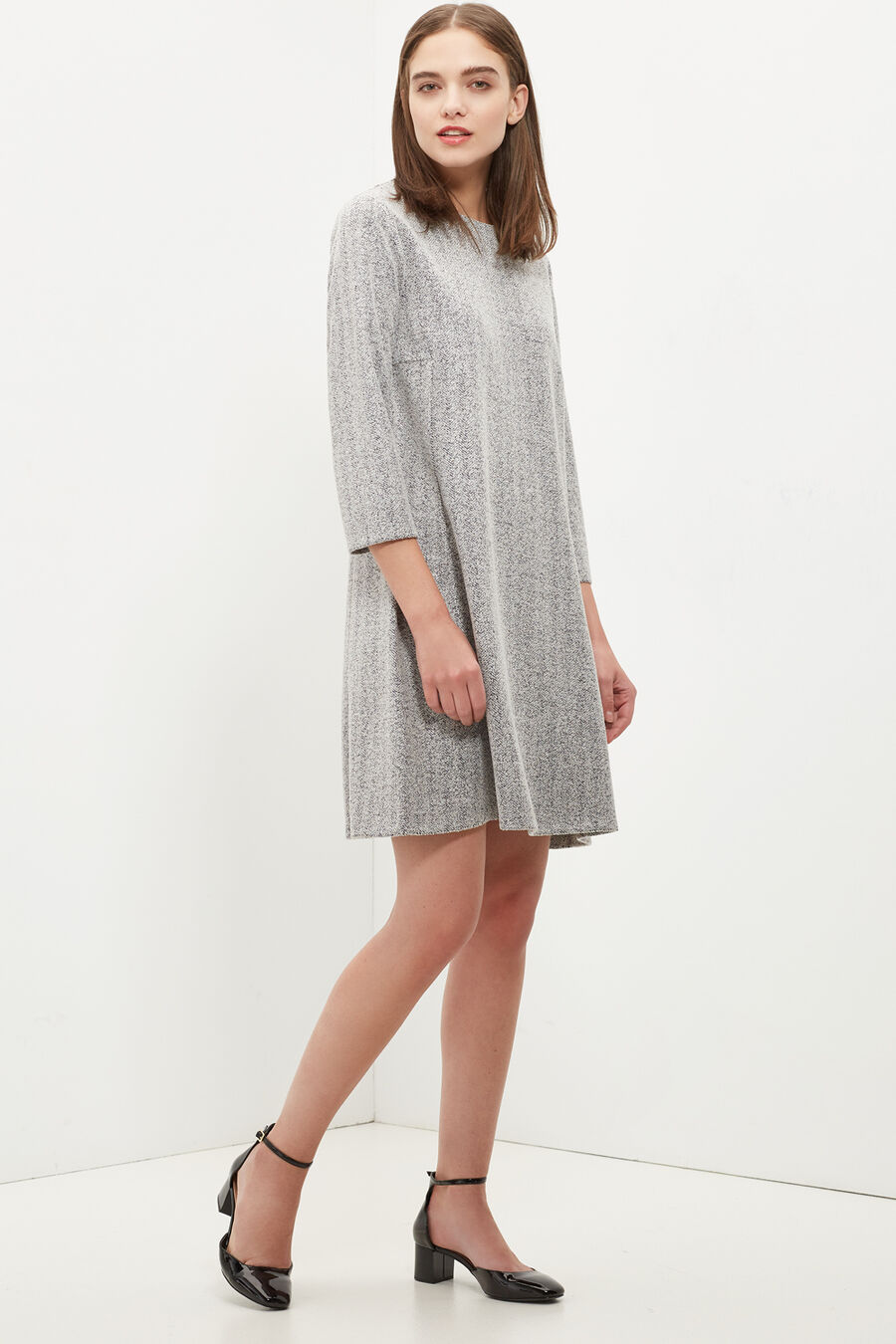 Herringbone dress