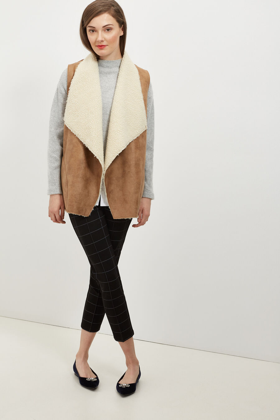 Double-sided gilet