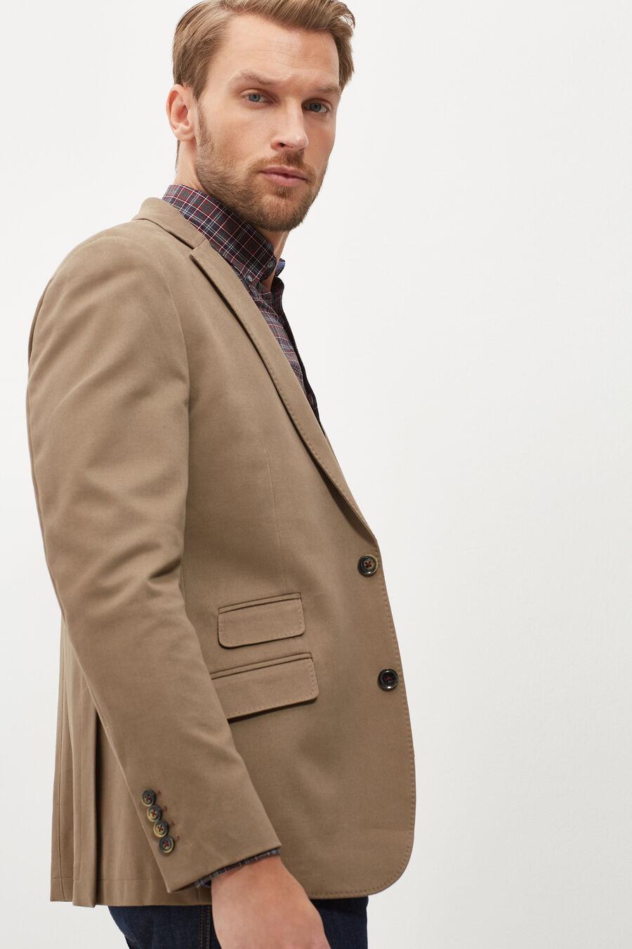 Slim fit separate blazer
