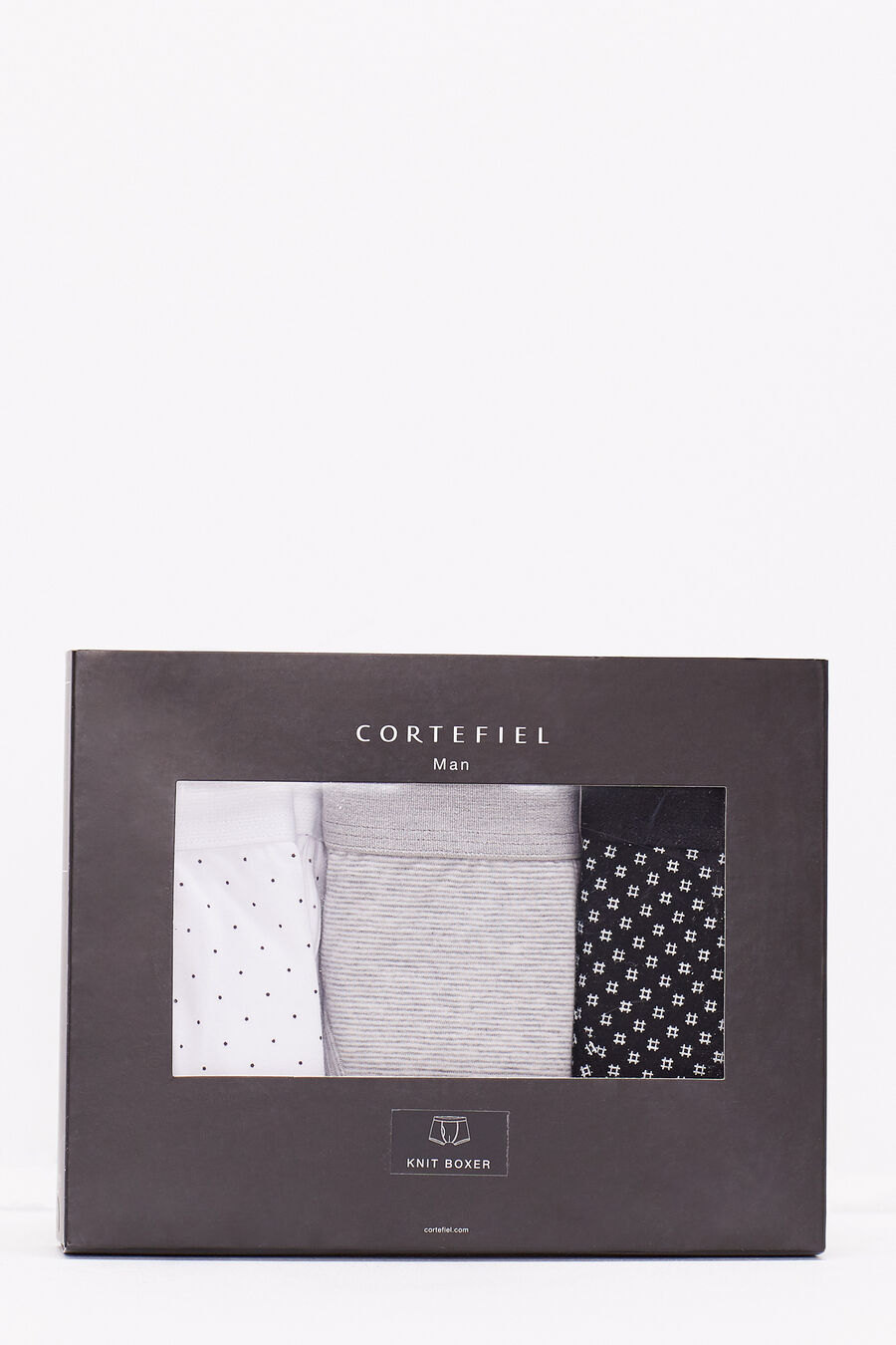 Pack 3 cotton boxers