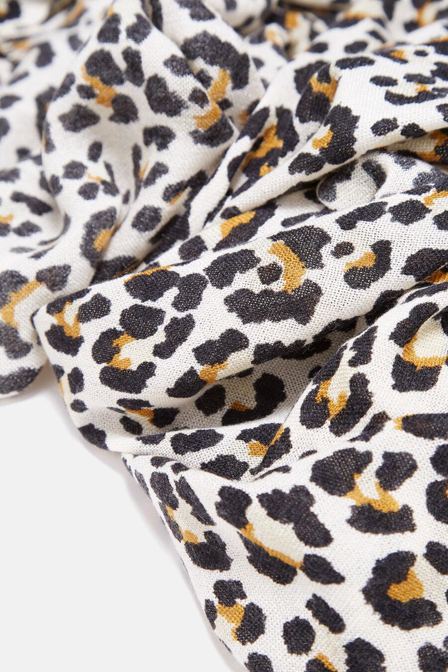 Maxi foulard animal print